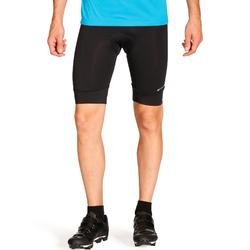 自行車無吊帶短褲Essential - 黑色