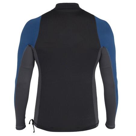 T-shirt de surf anti-UV à manches longues500– Hommes