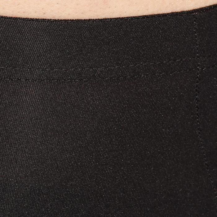 Fietsbroek heren Essential zonder bretels zwart