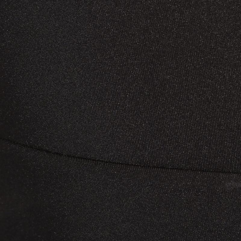 กางเกงปั่นจักรยานขาสั้นแบบไม่มีเอี๊ยมรุ่น Essential (สีดำ)
