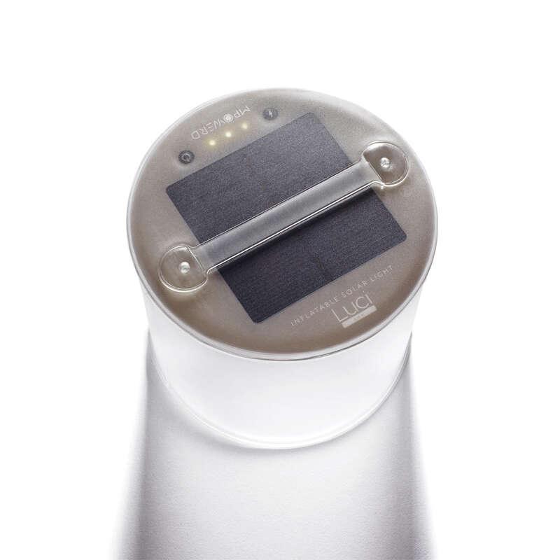 kemping lámpa és higiénia Túrázás - Napelemes lámpa Luci Lux KATADYN - Túra felszerelés