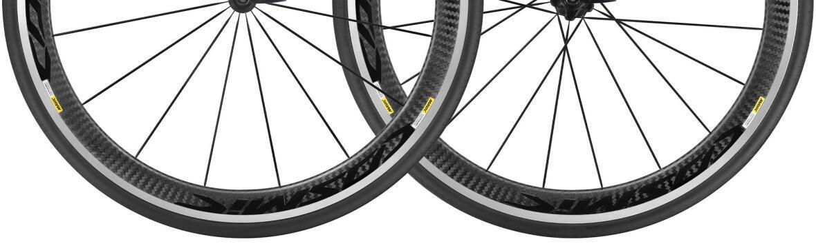 zoom on bike wheels