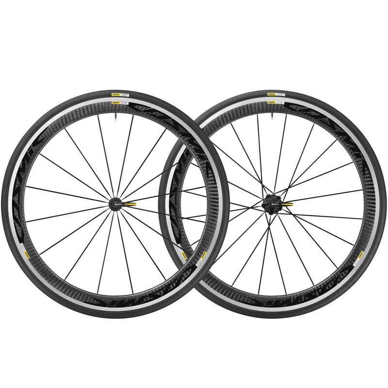 HJUL, LANDSVÄG Cykelsport - Hjulpar COSMIC PRO CARBON VAN RYSEL - Hjul och Hjultillbehör