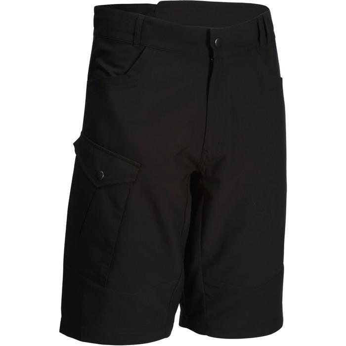 MTB-short 500 heren zwart