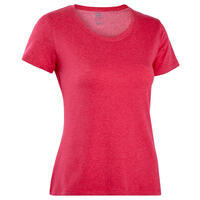 500 regular fitness t-shirt – Women