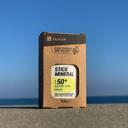 STICK solaire minéral et naturel pour le visage SPF50+ .