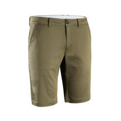 Short de golf homme MW500 kaki