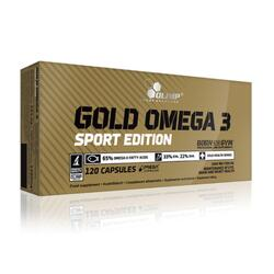 Olimp Omega-3 Gold Sport Edition 120 Kapseln