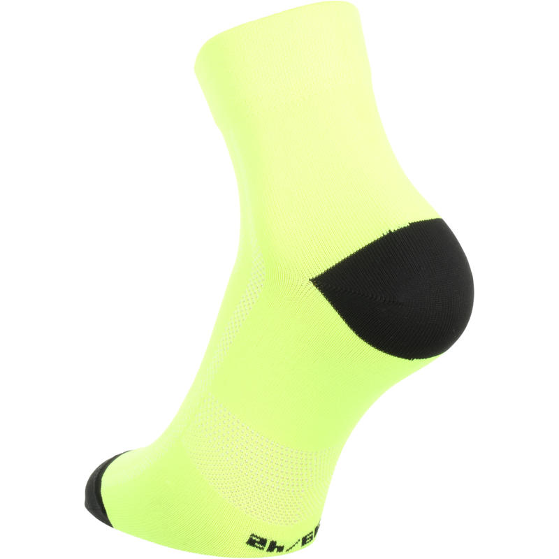 500 Cycling Socks - Neon Yellow