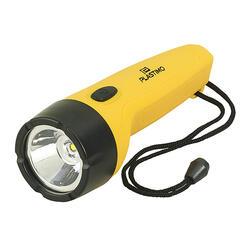 Lanterna Estanque 4 LED Amarelo