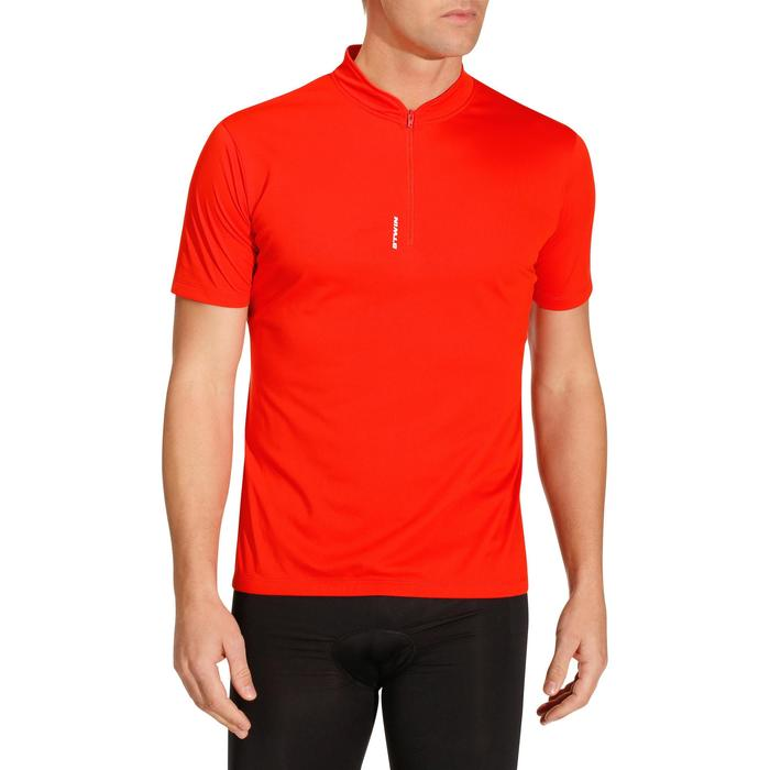 MAILLOT MANCHES COURTES VELO HOMME 100 - 202264