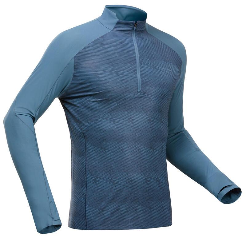 T-shirt Anti-UV manches longues de randonnée montagne - MH550 UV - Homme