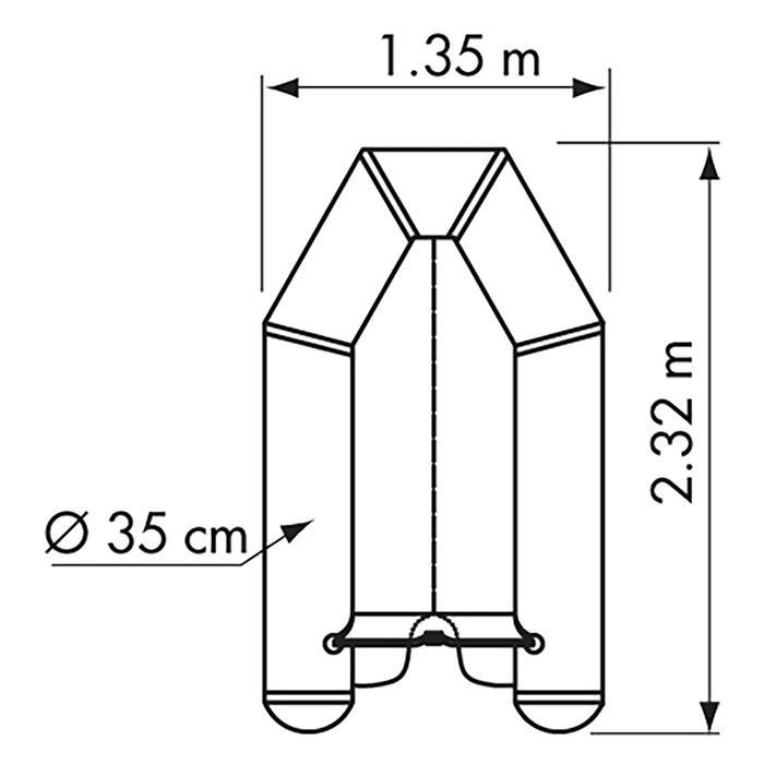 Annexe Bateau gonflable FUN II PI230VB