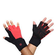 MGL 900 WORKOUT GLOVES RED