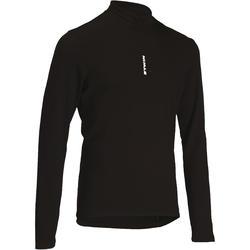 Shirt 100 met lange mouwen, zwart