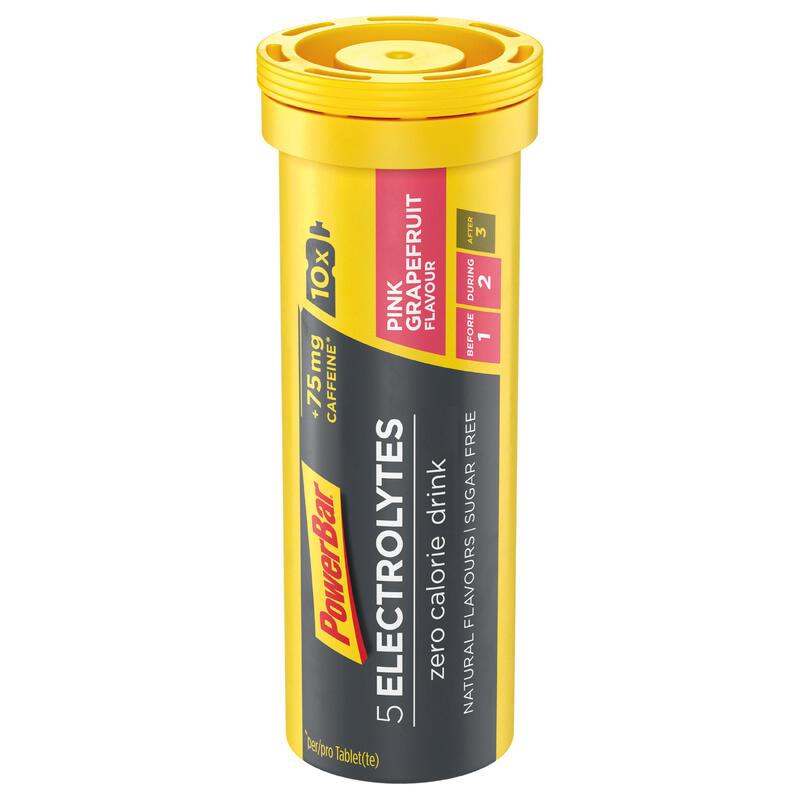 Boisson Electrolytes 10 Tablettes Pamplemousse (Avec 75mg caféine)