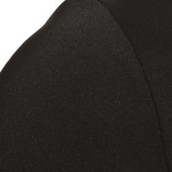 Wielershirt RC100 essentiel met lange mouwen voor heren zwart
