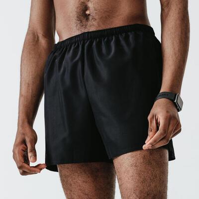 Pantalón Corto Running Run Dry Hombre Negro
