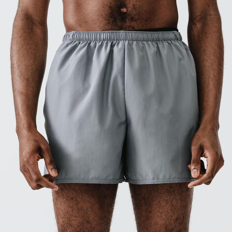 Men's Running Shorts (Run Dry) Grey - Kalenji