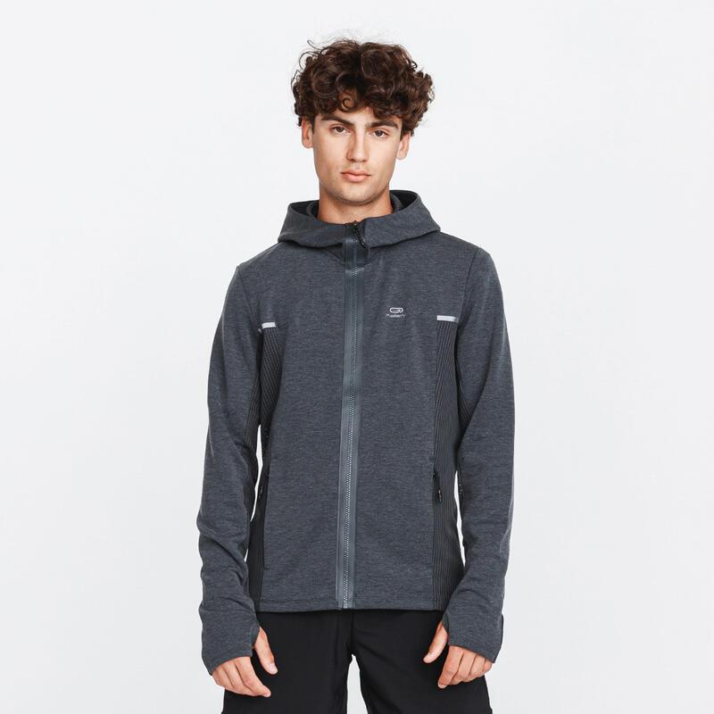 Run Warm+ Men's Running Jacket Grey