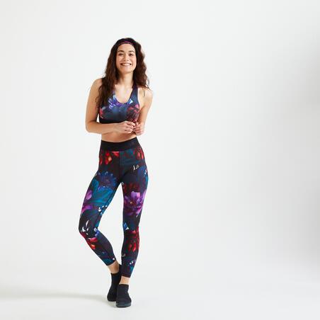 Medium Support Fitness Sports Bra 500