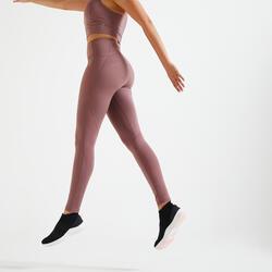 Leggings modellanti donna fitness 500