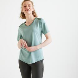 Getailleerd T-shirt voor fitness
