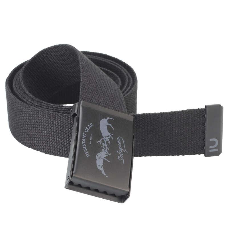 Îmbrăcăminte vânătoare Imbracaminte - Curea SG100 cerb negru  SOLOGNAC - Accesorii