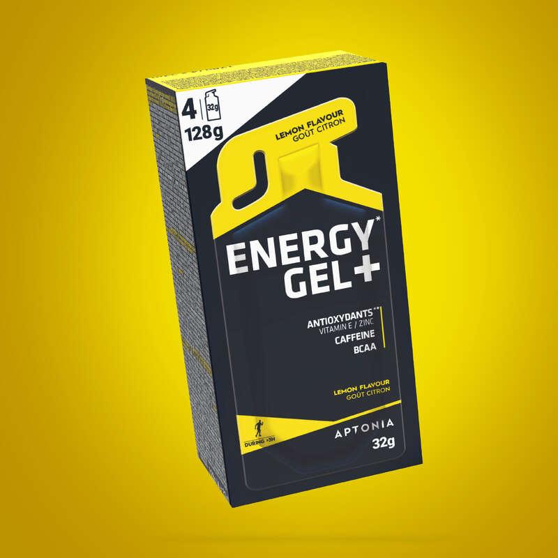 PLOČICE, GELOVI I NAKON SPORTA Trčanje - Energetski gel+ 4x32 g limun APTONIA - Trčanje