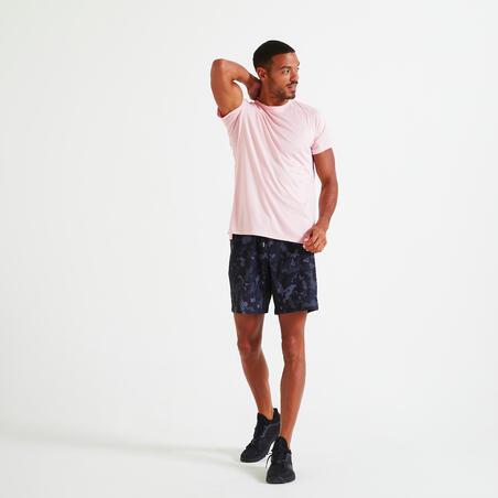 Playera técnica fitness rosa