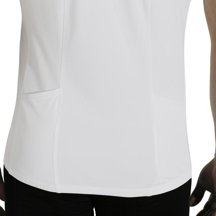 MAILLOT MANCHES COURTES VELO ROUTE TRIBAN ESSENTIEL BLANC