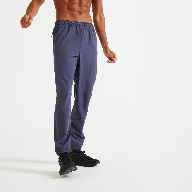 Fitness Training Bottoms 500 - Dark Grey