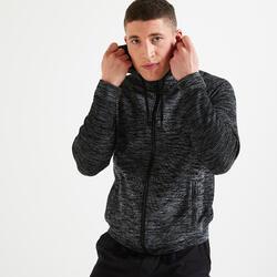 健身訓練外套 - 雜灰色