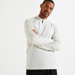 健身訓練 T 恤 - 米色