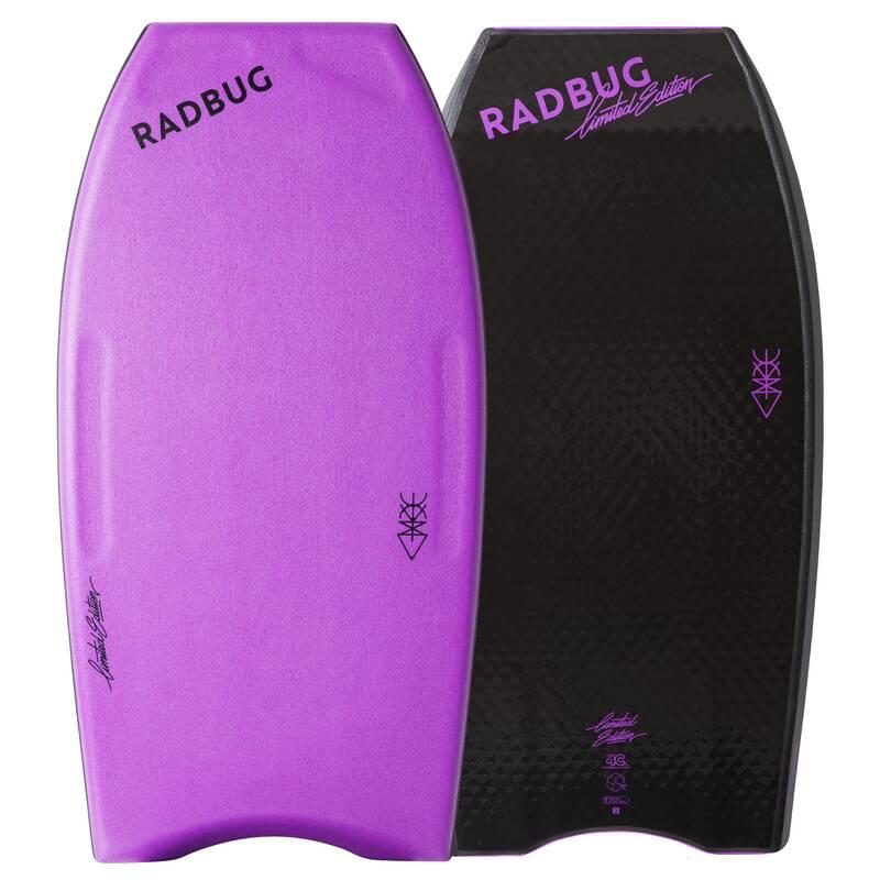 BODYBOARDS Surfing a bodyboard - BODYBOARD 900 LTD FIALOVÝ RADBUG - Surfy, bodyboardy a skimboardy