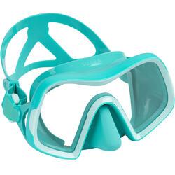 Maschera subacquea 500 V2 monolente