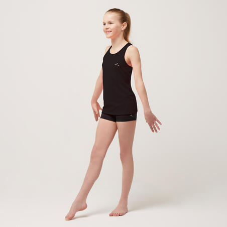 S500 My Little Top Girls' Gym Tank Top - Black