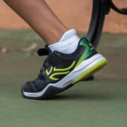 Kids' Tennis Shoes TS560 - Black/Yellow