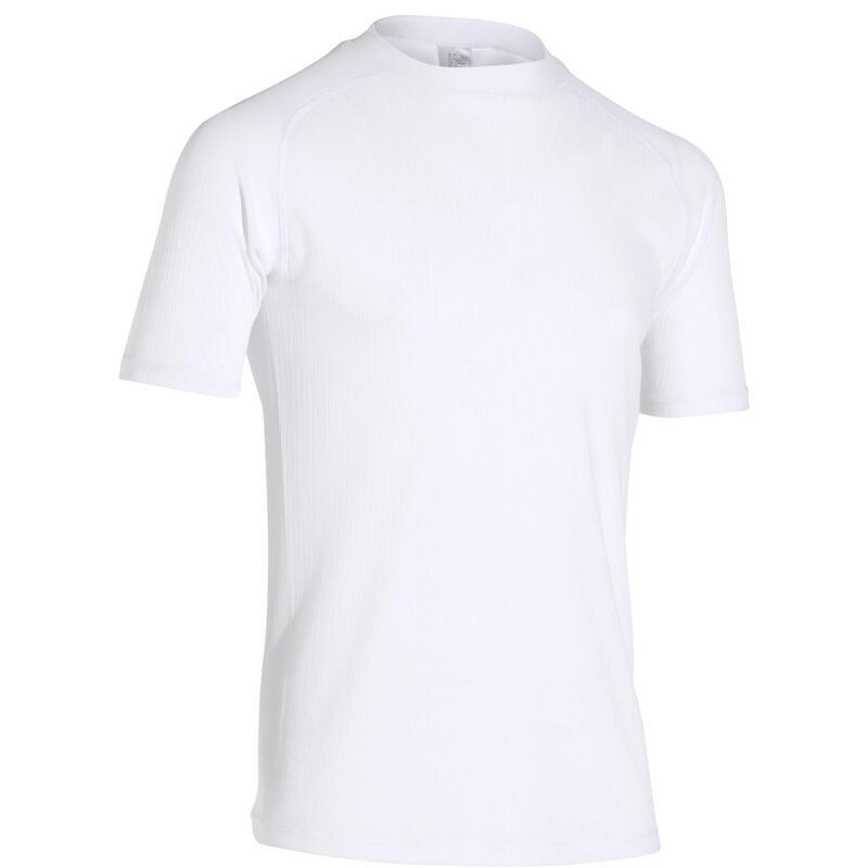 Maglia termica ciclismo uomo ESSENTIAL bianca