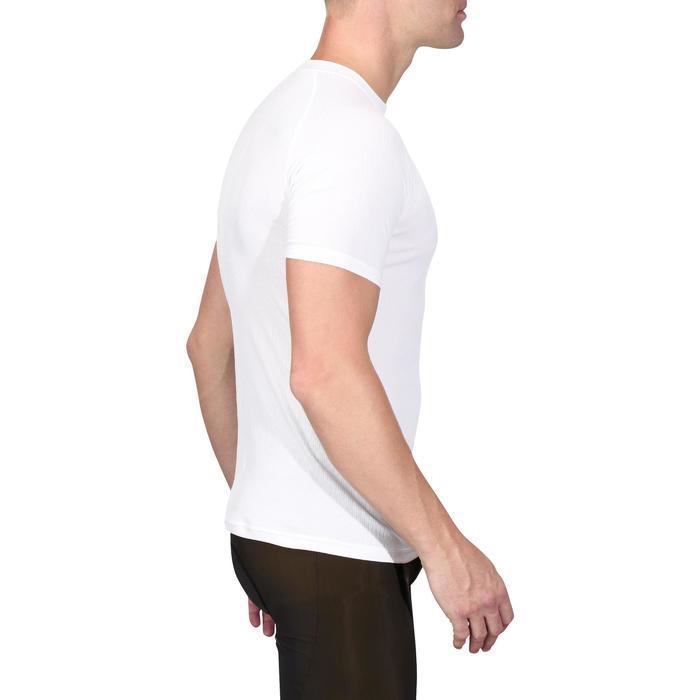 Fietsondershirt met korte mouwen 100 wit