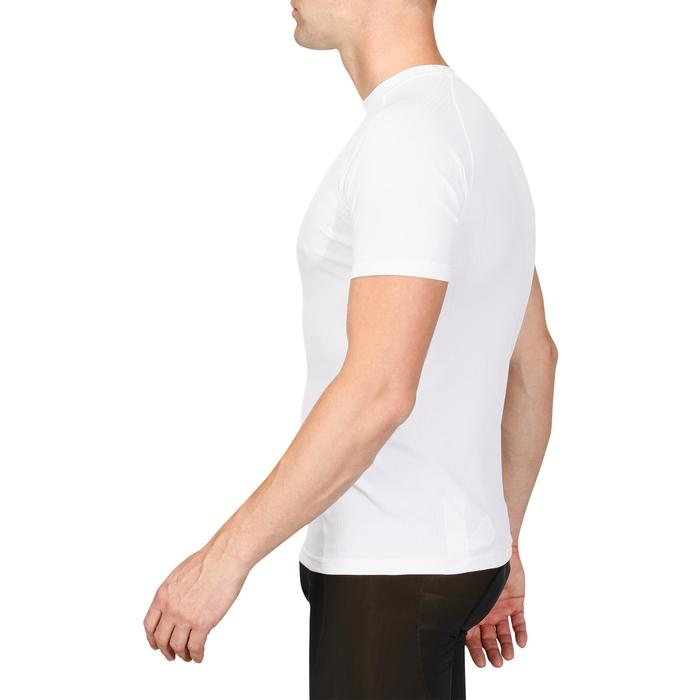 Essential Short Sleeve Cycling Base Layer - White
