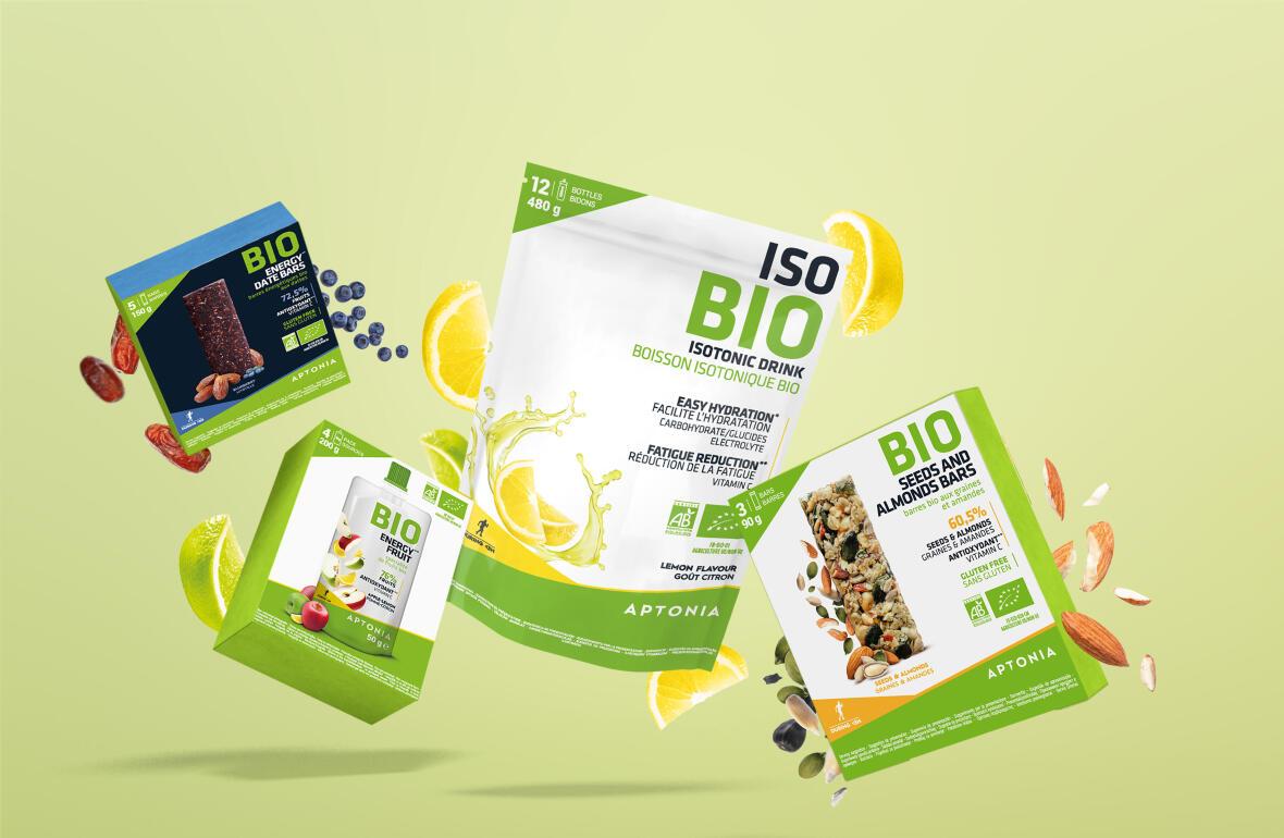 Notre gamme de nutrition sportive bio