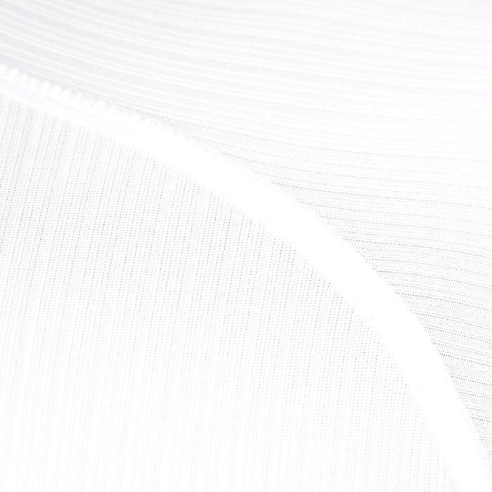 Fahrrad-Unterwäsche Kurzarm-Funktionsshirt 100 Kurzarm Herren weiß