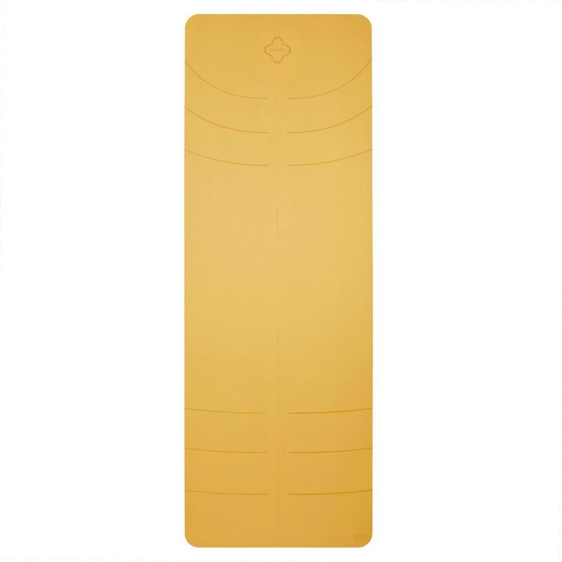 Tappetino yoga GRIP+ 3mm giallo