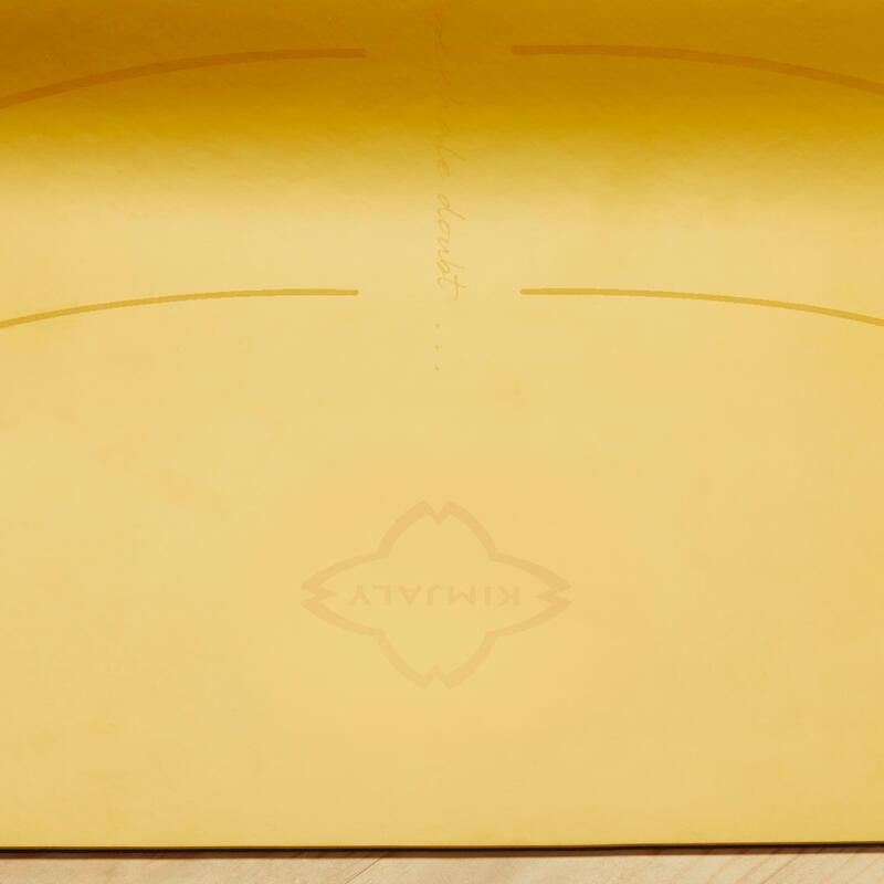 เสื่อโยคะPU รุ่น Grip+ 3 มม. (สีเหลือง)