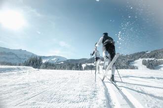 Decathlons utrustning för klassisk längdskidåkning