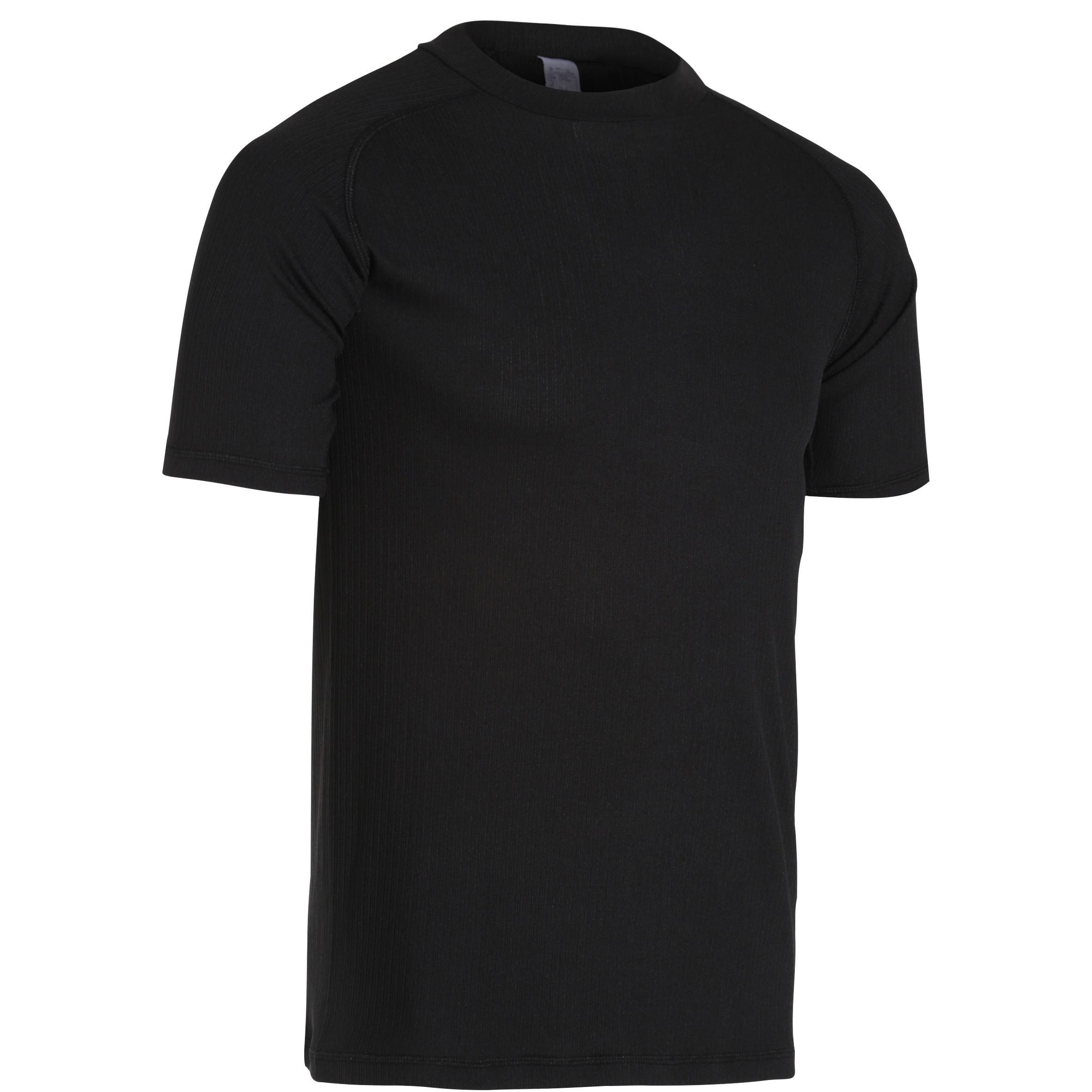 Radunterwäsche kurzarm RC 100 schwarz
