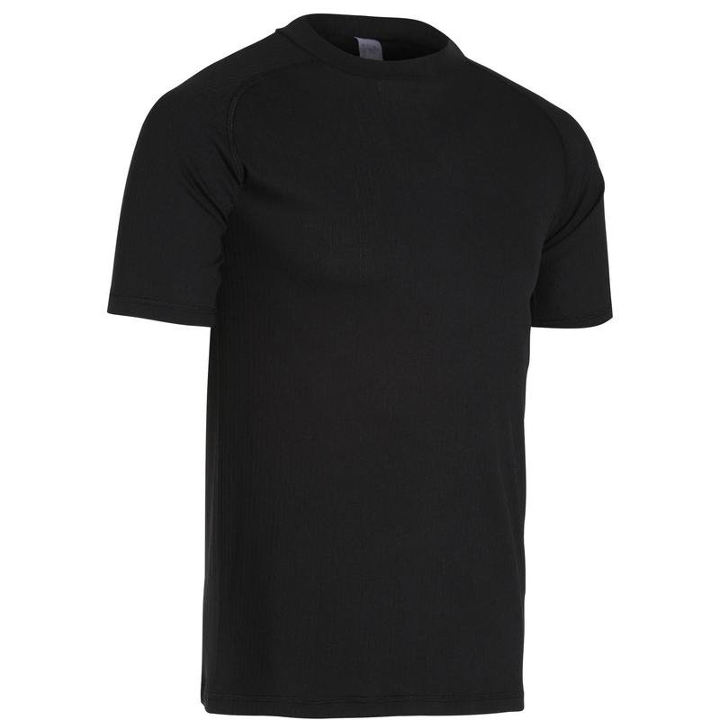 Fietsondershirt met korte mouwen Essential zwart