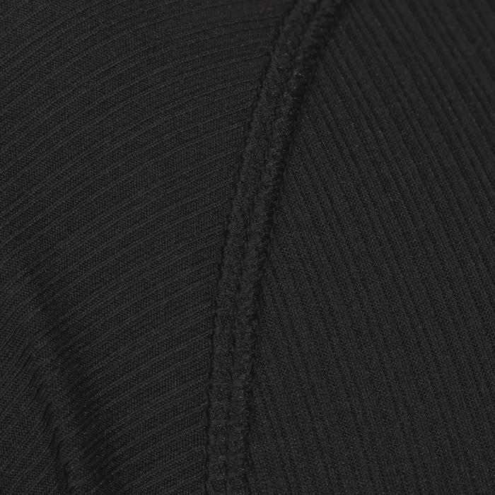 Camisola interior manga curta bicicleta Essential - Preto