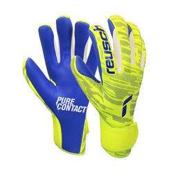 Keepershandschoenen Pure Contact Grip geel/blauw